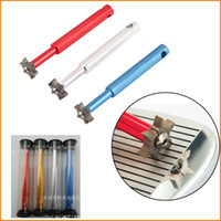 Wholesale 4 Colors High Quality Golf Iron Wedge Club Groove Sharpener Cleaning Tool Cleaner Square Groove