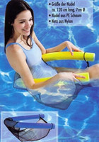 Wholesale 15pcs New Water Floating Chair Swimming Pool Noodle Seat Funny Tube Recreation Toy DHL