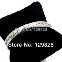 Wholesale stainless steel jewelry Urban Glam cuff bangle bracelet fashion with engraved words Bangles Cheap Bangles