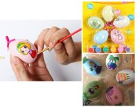 Wholesale 5PC Set Creative Children s DIY Painting Eggs Drawing Toy Educational Toys Easter Gift