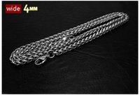 Wholesale 2016 new design L Titanium Stainless Steel chain snake necklace mm mm Top quality fashion jewelry