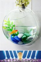 aquarium bowl - 2016 new Arcylic Wall Mounted Fish Tank Wall Aquariums mm DIY landscape bowl home decoration MYY
