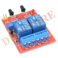 Wholesale flame sensor module V way fire flame detector alarm relay module drop shipping module ignition