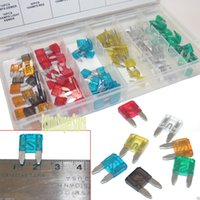 acura mini suv - Auto SUV Truck Fuse Replacement Kit PC Mini Assorted Car Fuse Color Coded Storage case included