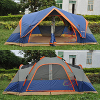 Wholesale 4 Season Outdoor Automatic Tent Camping Person Double Layer Large Family Tent Waterproof Beach Fully Automatic Camping Tents