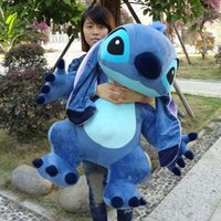 Wholesale Real Picture cm Jumbo Giant Stuffed Soft Plush Cute Stitch Toy