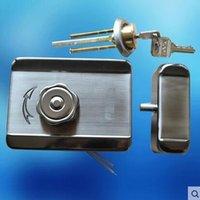 Wholesale Electric door lock building intercom electric access door gate control lock l magnetic