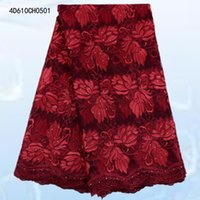 Wholesale High Quality Swiss Voile Lace African Voile Swiss Lace Fabric African Swiss Cotton Voile Lace Fabric For Clothes D610CH05