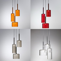 art design studios - Italy Design Spillray Pendant Lights Modern Minimalist Glass Art Chandelier Lightings Axo Ceiling Light Bar Office Studio lights