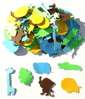 baby boy themed showers - Cute Jungle Animal Boy Themed Party Confetti Set of Assorted Pieces or a Birthday Party or Baby Shower