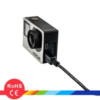 Wholesale Gopro accessories USB data line cable data wire for hero4 session hero4