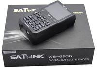Wholesale 100 original satlink ws dvb s digital satellite finder meter with inch lcd in stock