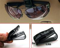 Wholesale 3000pcs Fashion Sunglasses Clip Eyeglasses Holder In Car Auto Vehicle VisorHo Glasses holder Clip For Business Bank Card Ticket jy575