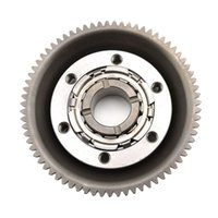 Wholesale Motorcycle Overrunning One Way Bearing Starter Clutch Gear For Yamaha YBR250 All moldes Starter Drive Clutch assy