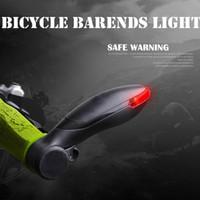 aluminium turnings - 22 MM Aluminium alloy mountain MTB bicycle light bar ends turning warn cycling light equipment accessories