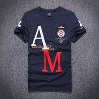 aeronautica militare shirt - 2016 new Arrival in stock Summer aeronautica militare men t shirts brand Cotton Male army short sleeve tees top