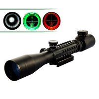 Wholesale 3 x40 Adjustable Tactical Riflescope Green and Red Dot Reticle Sight Scope for Hunting Scopes Night Vision Rifle Scope