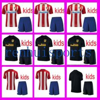 atletico madrid youth - youth Atletico Madrid Kids Jerseys child teens Shirt F TORRES KOKE GABI ARDA Jersey Home Away rugby