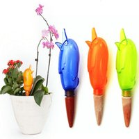 Wholesale Plant Flower Irrigation Ceramic Automatic Watering Spikes Birds Shape Drip Water