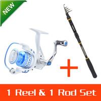 Wholesale KastKing Meter Carbon Telescopic KKBH Fishing Rod Pole Summer BBs CNC Aluminum Spool Fishing Reel Rod combo