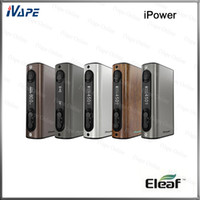 add long - 100 Original Eleaf iPower TC VW Mod W mah Battery For Long Sustainable Battery Life Upgradeable firmware Newly Added Reset Function