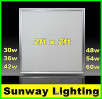 Wholesale LED Panel Light w w w w w w X600 mm led flat panels lights dimmable x2 ft indoor lighting led ceiling lamps