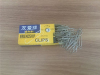 Wholesale 50Pcs Top Quality Large Metal Paper Clips Paperclips Clamps Gold Plated For Home Office School Stationery