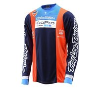 airline t shirts - New Hot Men Motorcycle Bicycle Motocross DH Downhill Breathable T Shirt Jerseys Long Sleeve Airline Off Road TLD Jersey MR46