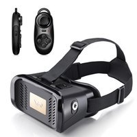 android games pack - 2016 Hot Sale head Mounted Virtual Reality Box remote Control for Storm Glasses Vr Game Wireless Handle fit Android And Ios Tape packing