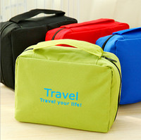 Wholesale Hot Portable Cosmetic bags large capacity outdoor hanging wash bag travel storage cosmetic sorting bags Waterproof Travel Wash gargle Bag