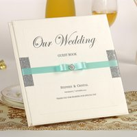 Wholesale Handmade Unique Wedding Guest Books Beautiful Wedding Favors Signature Book