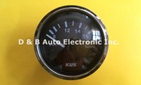 Wholesale 100 Brand New KUS Voltage Meters Voltmeters V For Yacht Automobile Motor Homes Trucks Black Color