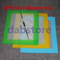 food - Silicone Mats Wax Non Stick Pads Silicon Dry Herb Mats cm Food Grade Baking Mat Dabber Sheets Jars Dab Pad Green Blue Yellow