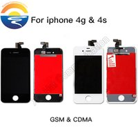 bar speakers - DHL FEDEX Replacement Touch Screen LCD Display Digitizer Frame Full Set Assembly With Speaker Mesh For iPhone G CDMA S