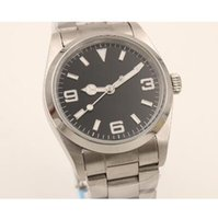 Wholesale Luxury brand automatic movment stainless steel brand black dial mm mens sport watch wristwatch sapphire glass
