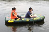 kayak - 190 cm Fishing Boat for Person Inflatable Boat Kayak Canoe Seahawk Alumnium or Plastic Oars Pump Seat Cushions Repair Patch