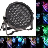 Wholesale EU USA Plug RGBW LED Par Light DJ Dance Party Stage Lighting Stage CH LED Par Lighting for Party Show
