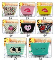Wholesale Portable Multifunction Beauty Zipper Travel Make Up Toiletry Pouch Cosmetic Case Modern girl pu creative Cosmetic Bag JF
