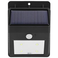 Wholesale Hot Sale Solar LED Motion Sensor Light Weatherproof Wireless Detector Auto Sensing Outdoor Water resistant Security Lighting