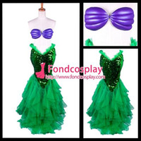 ariel costume accessories - The Little Mermaid Ariel Skirt Princess Dress Cosplay Costume Tailor made