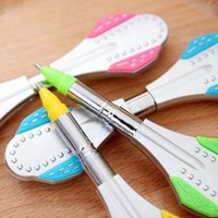 art scooter - Creative Novelty Cartoon Scooter Shape Ballpoint Pens Stationery Cute Ball Point Pen Office Supplies Child Gift Prize