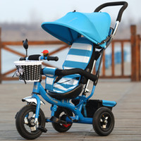 Wholesale Multifunctional tricycle bicycle for children Wheelbarrow Baby baby stroller bicycle