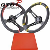 Wholesale 14inch mm PVC MO deep Corn Drifting Steering Wheel