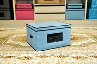Wholesale 2016 new storage box opening box of non woven storage boxes made of homemade brand storage box
