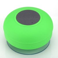 Wholesale Water Resistant Shower Stereo Wireless Speaker Bluetooth Speaker with Sucker Support Hands free Calls Function for Phone Laptop