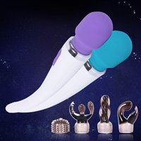 Wholesale 2017 Brand New Sex Toys AV Vibrators Sex Toys for Woman Vibration Massage High Speed Sex Products USB Charging G spot Stimulation
