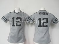authentic packers jerseys - NWT New Hot Limite Packers Aaron Rodgers Grey NEP Gridiron Gray Women s Ladies s America Football Jerseys Authentic Uniforms Sweatshirts
