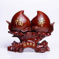 animal shapes crafts - Home Furnishing Creative Gifts fashion China peach pattern crafts FengShui ornaments resin peach shape High grade crafts