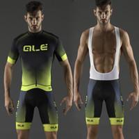 achat en gros de jerseys ale cyclisme-2016 New Arrival ALE Vêtements de cyclisme / Quick-Dry Cycle Vêtements Mountain Bicycle Wear Ropa Ciclismo / BikeWerk Cycling Jerseys