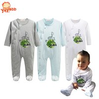 Wholesale 2016 New Born Baby Rompers Casual Cotton Baby Boy Clothes Infantil Long Sleeve Jimpsuit for Newborns Spring Autumn Baby Clothing